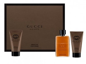 Gucci GUILTY ABSOLUTE POUR HOMME edp 50ml + AS 50ml + SG 50ml zestaw