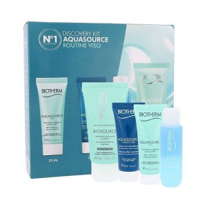Biotherm DISCOVERY KIT AQUASOURCE 140ml zestaw