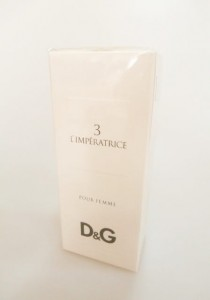 Dolce & Gabbana 3 L'IMPERATRICE edt 100ml D&G